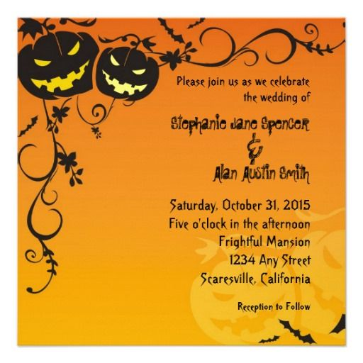 See MoreHalloween Wedding Invitationtoday price drop and special promotion. Get The best buy