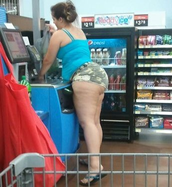 Camo Butt - Funny Pictures at Walmart