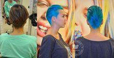 новый цвет антоцианин B13 бирюзовые волосы