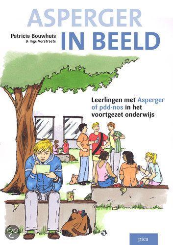 Asperger in Beeld > Met veel humor geven deze strips inzicht in het denken en handelen van een leerling met Asperger (of pdd-nos). Daarnaast zijn er op subtiele wijze instructies verwerkt die een docent of klasgenoot kan gebruiken om de communicatie met een persoon met Asperger te verbeteren en/of verduidelijken.