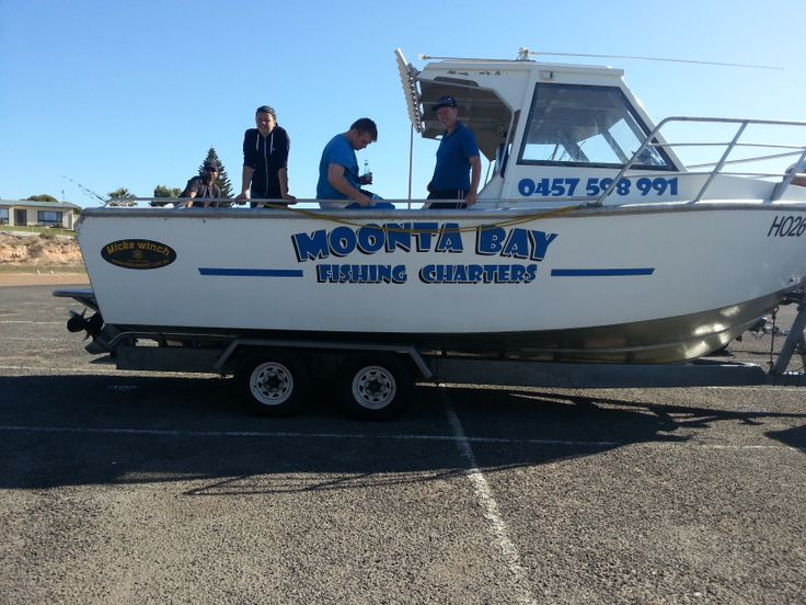 Moonta Bay Fishing Charters. Well worth it, you will have a blast