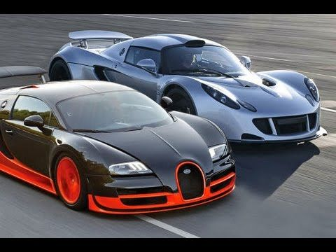 bugatti veyron super sport vs hennessey venom gt youtube cars and motorcycles. Black Bedroom Furniture Sets. Home Design Ideas