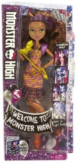 Welcome to Monster High Clawdeen Wolf