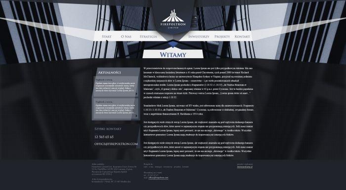 websites by Przemyslaw Zilek at Coroflot.com