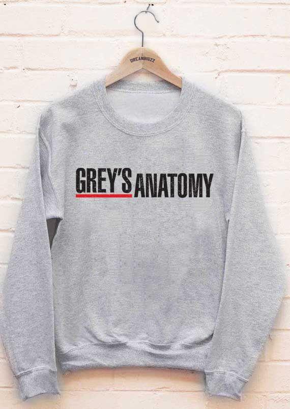 Meh. Geek - Greys Anatomy Logo Grey's Anatomy Unisex Crewneck Sweatshirt