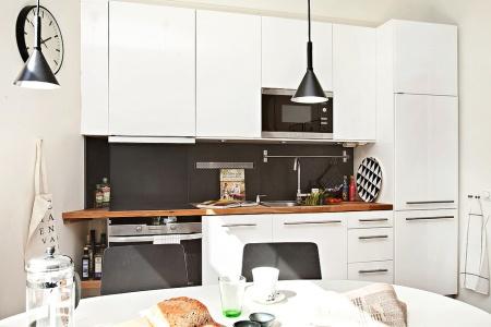 Mini pisos decoraci n dise o grandes ventanales piso - Piso pequeno estilo nordico ...