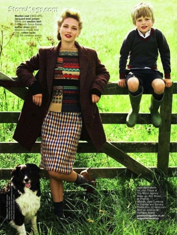 English fashion, Oct 2011 - Lena Lomkova by Walter Chin for UK GlamourVintage Hairstyles, Dresses Up, Country Style, Country Girls, English Fashion, English Country, Lena Lomkova, Walter Chin, Burgundy Lips