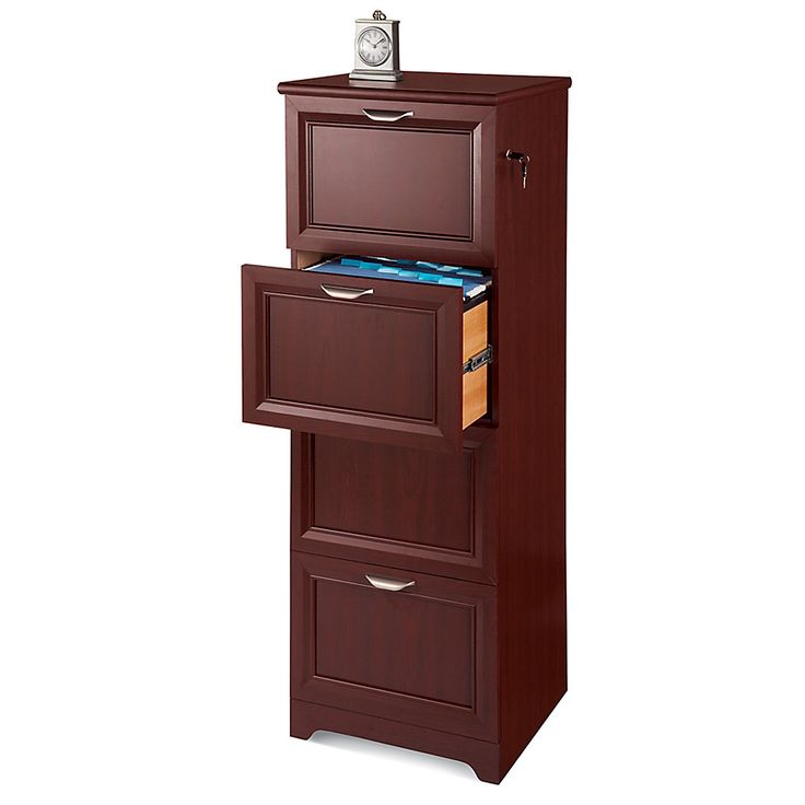 Realspace 174 Magellan Collection 4 Drawer Vertical File