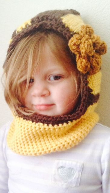 beautiful bumble bee hat with flower accent. US $25 plus shipping and handling. Customize to the color of your choice
