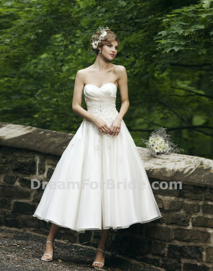 Tea length wedding dress australia photo - 1