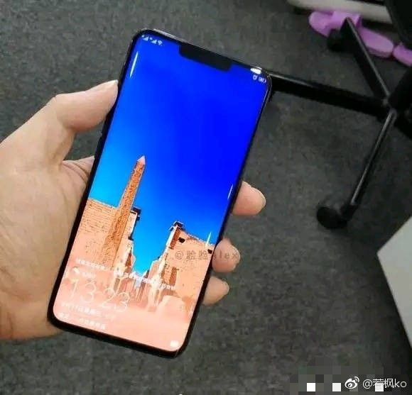 Huawei Mate 20 Pro Prototype Leaks With Curved Display Huawei Smartphone Phone