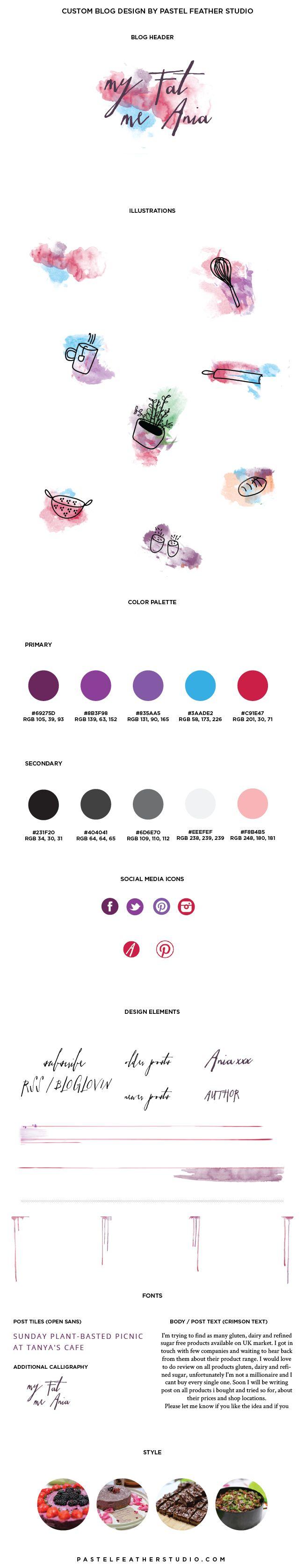 189 best blog kits templates images on pinterest blog designs