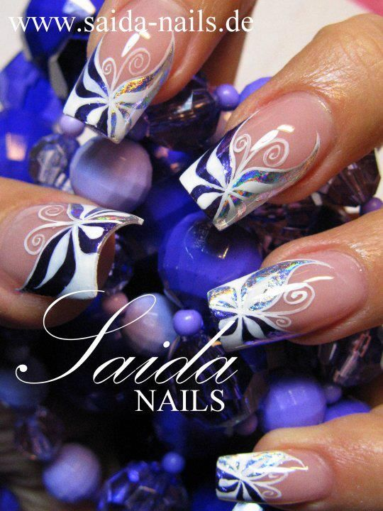 Pinned by https://www.SimpleNailArtTips.com FRENCH MANICURE NAIL ART DESIGN IDEAS - ADVANCED