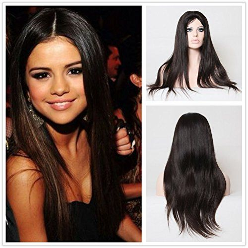 Wigsroyal Glueless Silk Top Brazilian Wig 20 Inch Long Straight Real Hair Wigs For Women