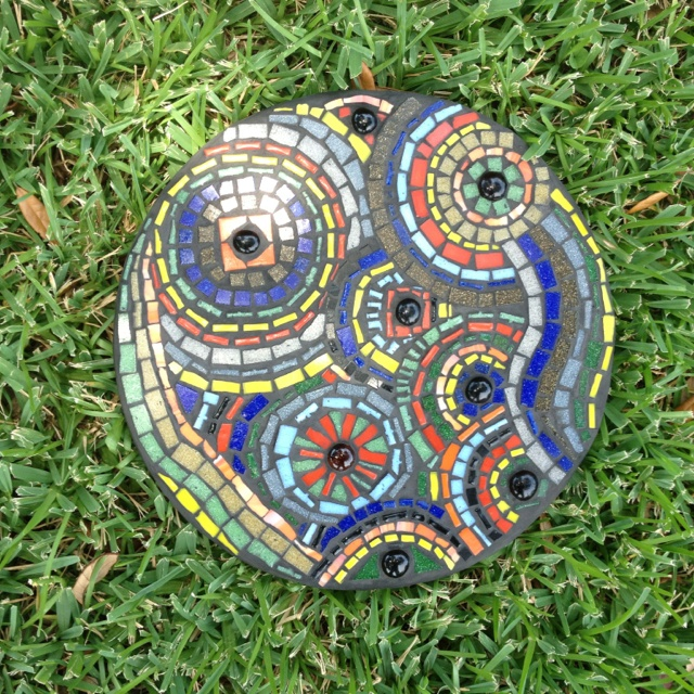 71 best mosaic stepping stones images on pinterest mosaic mosaic steppingstone pronofoot35fo Images