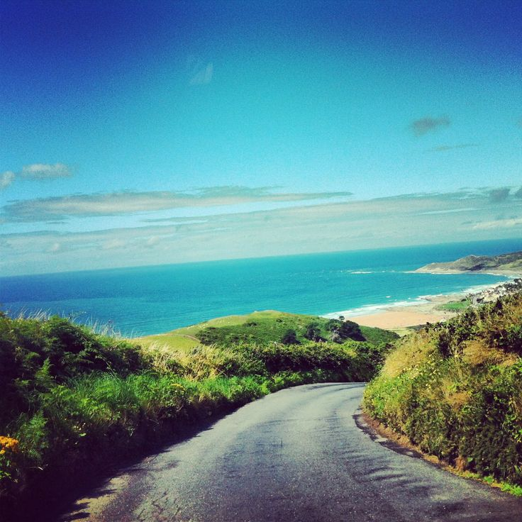 One of my favourite views in the whole wide world. Woolacombe.