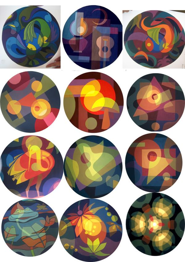 bài bố cục màu cách điệu động vật - Tìm với Google