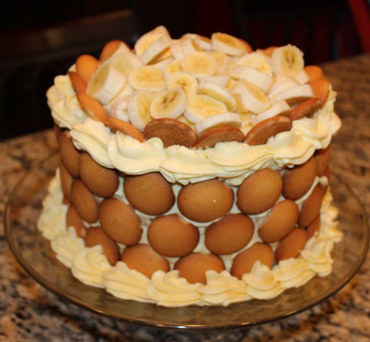 """... 21st Birthday Ashton!The recipe for """"Lighter"""" Banana Pudding Cake"""