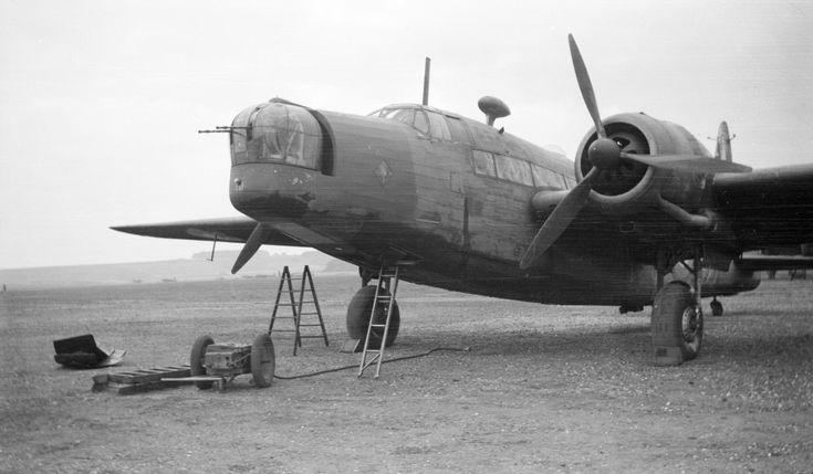 Paul Nash 'Black and white negative, a Vickers Wellington bomber', 1940 © Tate