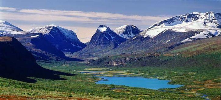 Abisko National Park in Abisko, Norrbottens län