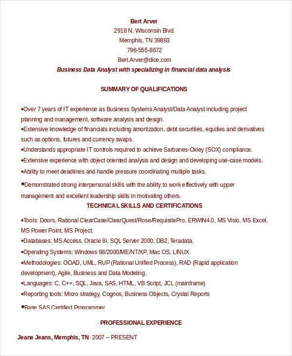 Software Business Requirements Template Resume Template For Software Developer Best Of Senior Resume Profile Examples Good Resume Examples Resume Examples