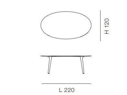 Téléchargez le catalogue et demandez les prix de 3170 | table en marbre By bross italia, table de salon ovale en marbre design Giulio Iacchetti, Collection ademar
