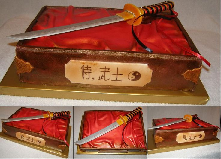 "Торт ""Меч самурая"""