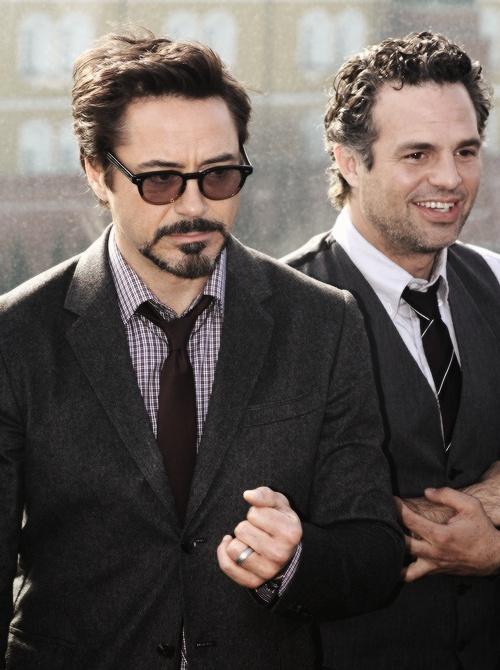 RDJ & Mark Ruffalo (Avengers!)