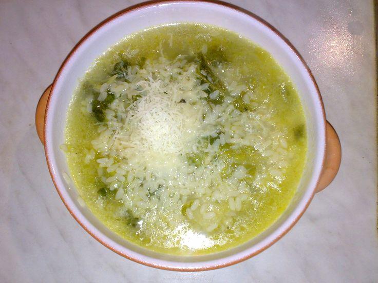 Ricetta Riso in brodo con cavolo verza