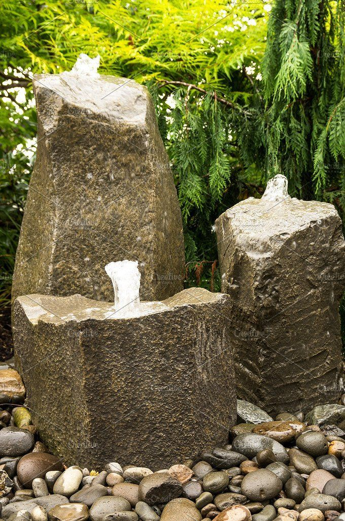 Bubbling Water Fountains Garden Water Fountains Water Features In The Garden Diy Water Feature