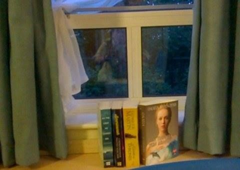 books in front of a window Oxford Brookes university