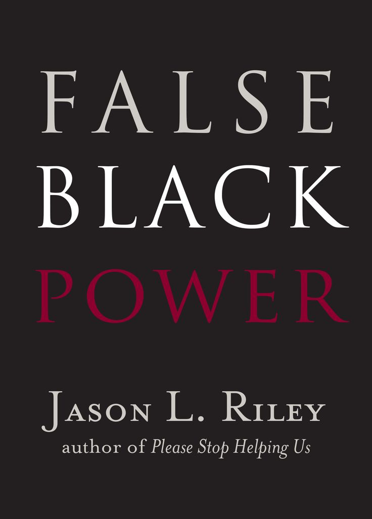 Black civil rights leaders have long supported ethnic identity politics and prioritized the integration of political institutions, and seldom has that strategy been questioned. In False Black Power, Jason L. Riley takes an honest, factual look at why increased black political power has not paid off in the ways that civil rights leadership has promised.