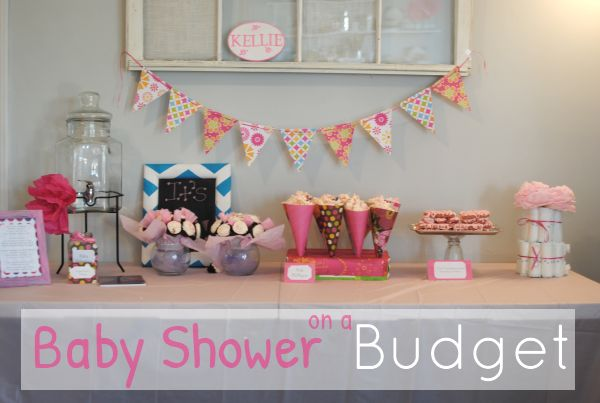 Baby Shower on a Budget. Simple yet CUTE ideas!