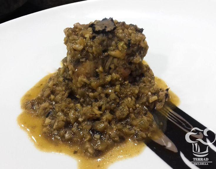 Receta de Solomillo iberico con salsa perigourdine