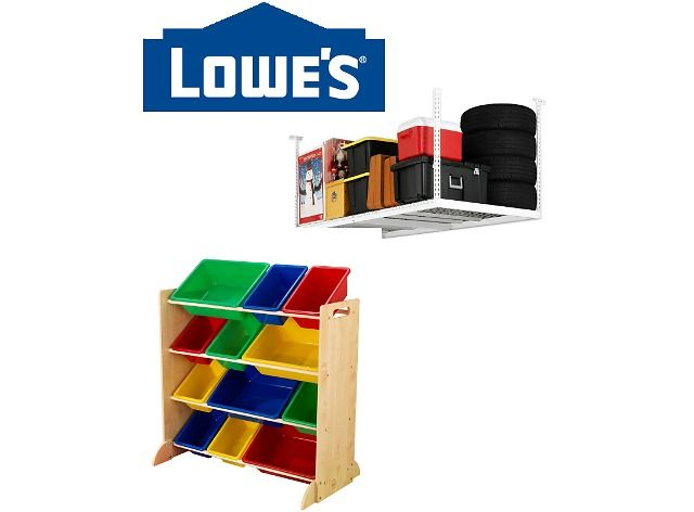 Up To 30% Off Select Garage Organization Items | Lowe's Sale (lowes.com)