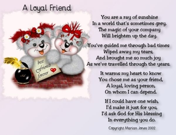 Beautiful Friendship Poems Quotes  Beautiful Friendship Poems  Love Quotes Poems  Messages