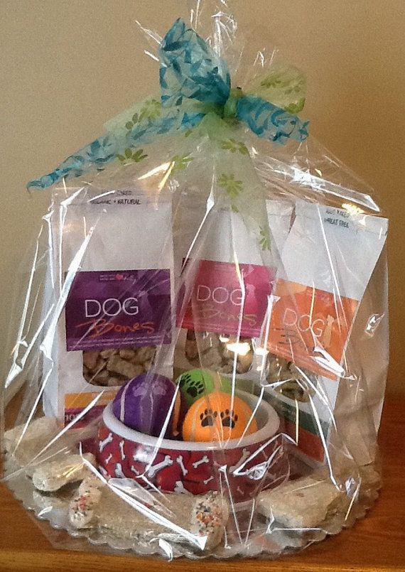 Dog Gift Basket  Party Pack by DOGBonesBoutique on Etsy