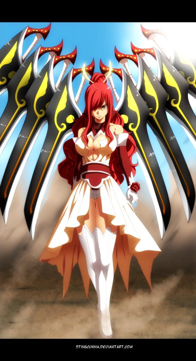 Fairy Tail 432 - Erza Scarlet new Armor by StingCunha
