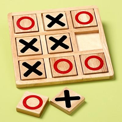 Oh what fun it is to sit on the floor and play TicTacToe! #TheLandOfNod