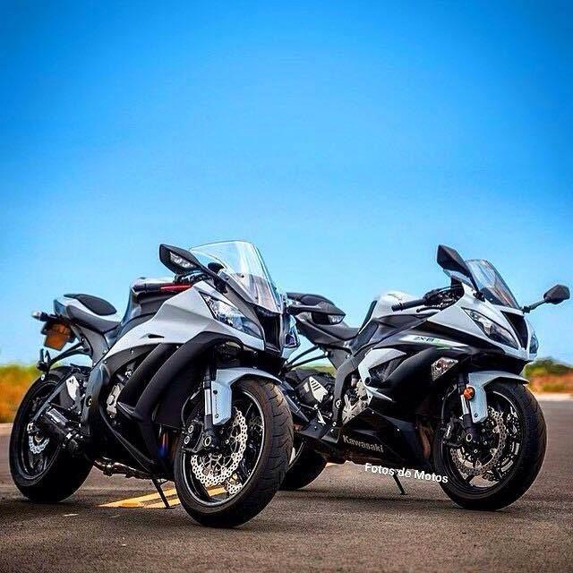 Anh em nhà Ninja :3Anh em nhà Ninja :3 Sportbikes, Kawasaki Ninja,