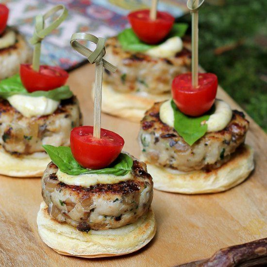 Low Carb Turkey Sliders for Manly Men