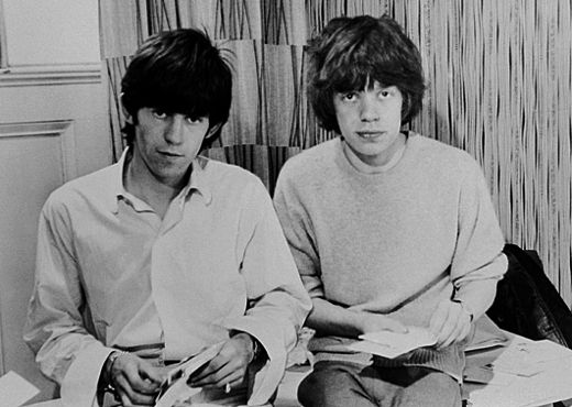 The Young Mick Jagger & Keith Richards | All you need is ...