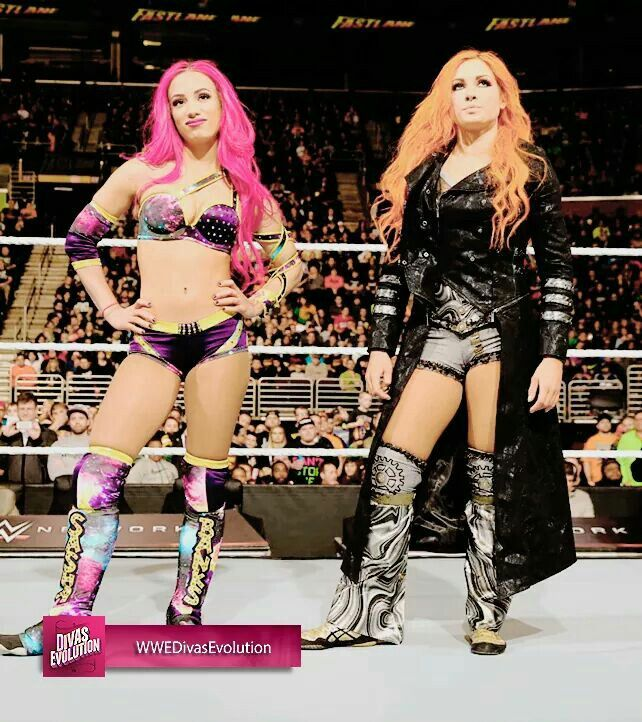Sasha Banks & Becky Lynch