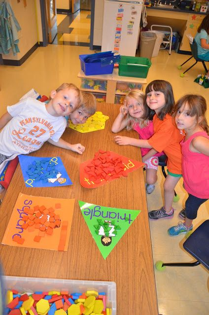 A Place Called Kindergarten: math...love this as a center for sorting shapes!