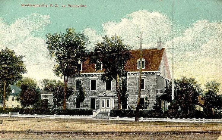 Le cœur de Saint-Thomas | Le presbytère de Saint-Thomas au début des années 1900 avec son balcon ouvert. © Société d'histoire de Montmagny.