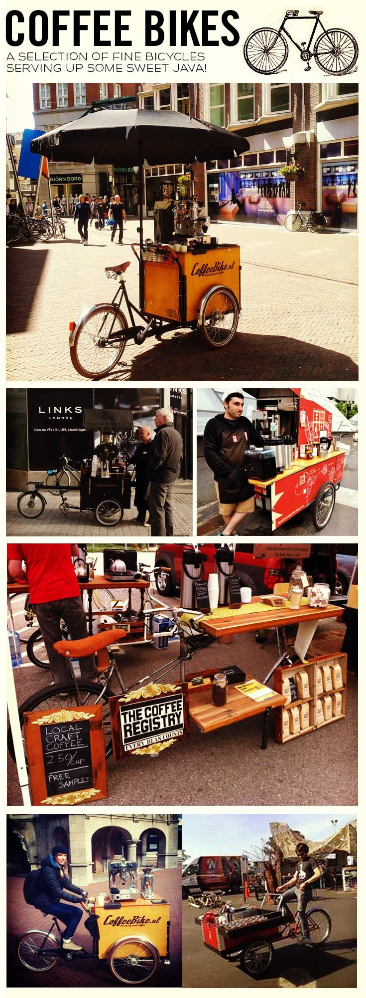 Mobile coffee stand 3, ... I really like some of these