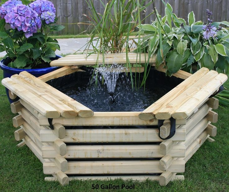 34 best images about intalogs norlogs wooden planters and for 100 gallon pond pump
