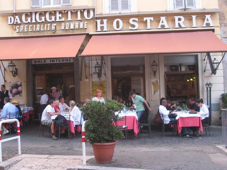 Giggetto al portico d'Ottavia - Roma. Dove abbiamo provato la Trippa alla romana...