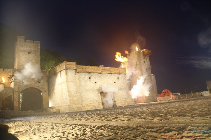Visby under fire