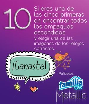 Pañuelos Familia® Chic Metalic - instrucción 10